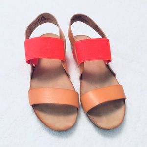 Mossimo Slip On Sandals Neon Coral